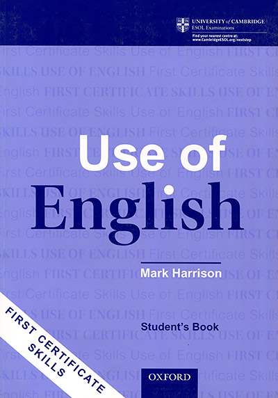 First Certificate Skills: Use of English (New Edition) Student's Book
