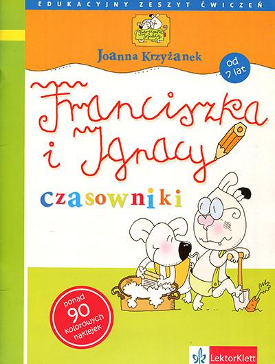 Czasowniki. Edukacyjny zeszyt ćwiczeń dla dzieci od 7 lat