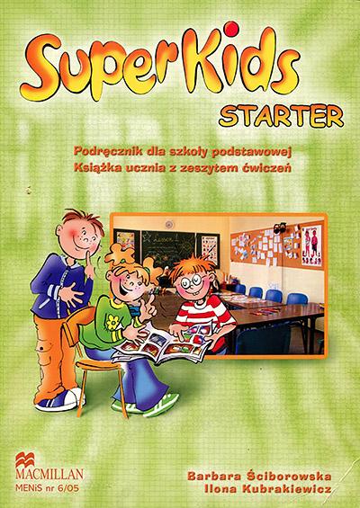 SuperKids Starter Student's Book + CD